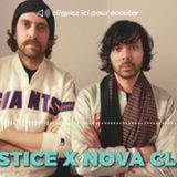 Radio Nova - Nova Club - JUSTICE interview - November 17th 2016