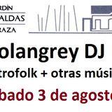 Sesión ElectroFolk en Las Caldas (Asturias)
