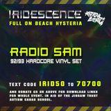 RADIO SAM -  live @ Iridescence #3 Full On Beach Hysteria