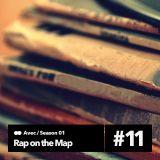 Rap on the Map Εκπομπή 11 (20-12-2013)(Avec,Sarkastis,Wena)