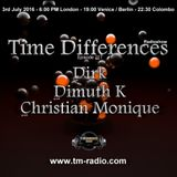 Dirk - Host Mix - Time Differences 217 (3rd July 2016) on TM-Radio