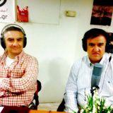 """Ο ποιητής Γιώργος Γώτης και ο συνθέτης Νίκος Παναγιωτάκης στην εκπομπή """"Μουσικήν Ποίει . . ."""""""