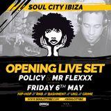 Soul City Opening 2016 Live W/t Policy & Mr Flexxx
