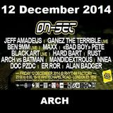 ON-SET London 12/12/14 Promo Mix – ARCH