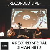 Vi4YL Special: Simon Hills picks & plays 4 records: recorded live at the Ministry of Sound workspace