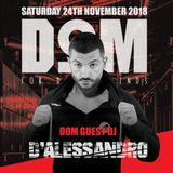 D'Alessandro LIVE @ DOM Party Milano November 2018