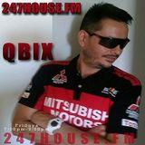 DJ QBIX LIVE@ 247HOUSE .FM DJK#272pt.1 HOUSE 8-19-2016