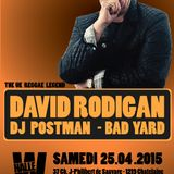 DAVID RODIGAN  - STRIKLY DUBPLATES - MIX BY WELCOME2DANCEHALL - PROMO FOR HALLE W 25.04.15