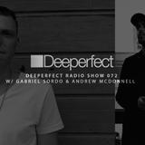 Deeperfect Radio 072 | Gabriel Sordo & Andrew McDonnell