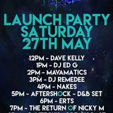Dave Kelly - AfterDarkRadio Launch Weekend Show Saturday 12-1pm 27th May 2017