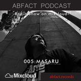 Abfact podcast 005: MASARU