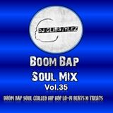 DJ GlibStylez - Boom Bap Soul Mix Vol.35 (Chilled Hip Hop & Soul)