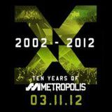 SL2 Live@The Warehouse Project - 10 Years of Metropolis - 3/11/12