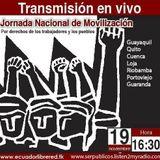 Transmisión en vivo de la Marcha del 19N desde Guayaquil-Ser Publicos Radio