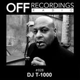 Andre Crom - Off Recordings Radio 028 DJ T-1000 aka Alan Oldham