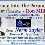 Journey into the Paranormal with Ron Mills 20161121_Norm Sayler