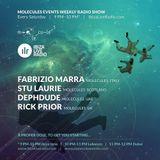 Stu Laurie & Rick Prior - Ibiza Live Radio - Molecules Events Weekly Radio Show - 03-10-2015