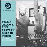 Peek A Groove Live Eastern Bloc In Store 14th July 2017