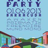 Prismatik live Kids Want Party @ Barracuda [01.06.2013]