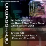 Ep. 126 - Review Show Recap, Episodes 101 to 125