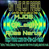 MJOS Live Techno Mix For On The Cut Radio aired 15-06-19 1hr live mix Techno, melodic techno