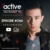 Active Sessions Live #066 By Mike Sang