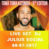 Live Set Dj Julius Toma Toma Social 08-07-2017