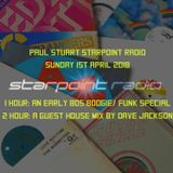 Paul Stuart Starpoint Radio - 2pm - 4pm Sunday 1st April 2018
