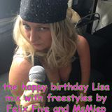 Happy Birthday Lisa - crap mix with freestyle by Felix Five and MsMiep