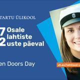 Monika Õun kutsub huvilisi TÜ Lahtiste uste päevale.
