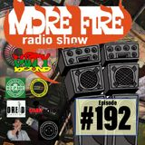 More Fire Radio Show #192 Week of Oct 16th 2018 with Crossfire from Unity Sound