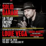 Solid Garage 18yr Anniversary Mix CD by Yogi (Groove Institute)