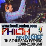 DJ CHEF & DJ PHILTH-KOOL LONDON 16-07-15