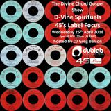 Divine Chord Gospel Show pt. 81 - D-Vine Spirituals Label Focus