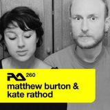 RA.260 Matthew Burton & Kate Rathod