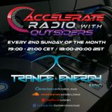 Lucas & Crave pres. Outsiders - Accelerate Radio 025 (2nd Anniversary part 2) Trance-Energy Radio