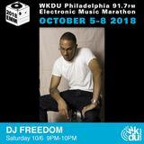 DJ Freedom - 2018 WKDU Electronic Music Marathon