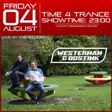 Time4Trance #076 4-08-17 live in studio Westerman & Oostink