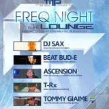 DJ Sax Live @ Beta Nightclub : Mahesh and Fundamental Frequencies Presents: Freq Night In The Lounge