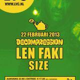 Len Faki @ Decompression, LVC, Leiden (22-02-2013)