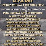 Lee James - H.O.P  Li.V.E Live Stream 8th may 2020
