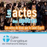 Actes 5.12-42 La persécution ne peut pas détruire l'église