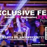 Exclusive Fest fever 14 de septiembre privilege...Previa ;)