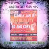 HQB SHOW @ UNIONTOWN BAR WDC  DTAY LIVE MIX SET 01/15/17