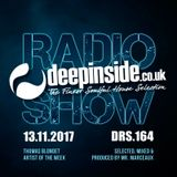 DEEPINSIDE RADIO SHOW 164 (Thomas Blondet Artist of the week)