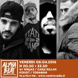 Alpha Beat #24 w/ Ninjaz, Ganji Killah, K!Dust & Yodaman - 08.04.2016