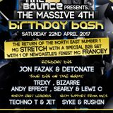 Time to Bounce 4th Birthday - Dj. Trixy & Detonate B2B - Mcs Techno T & Jet 22.4.17