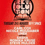 Sasha - live at Music is Revolution, Week 8 (Space, Ibiza) - 2nd August 2016
