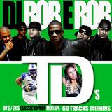 DJ ROBE ROB - 90'S & 2K'S HIPHOP(1hr 49 mins) 2 DISC