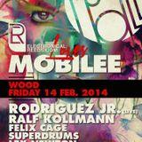 Rodriguez Jr. Full Live @ Wood - Electronical Reeds Loves Mobilee --14.02.2014-- - EyeLive Sessions